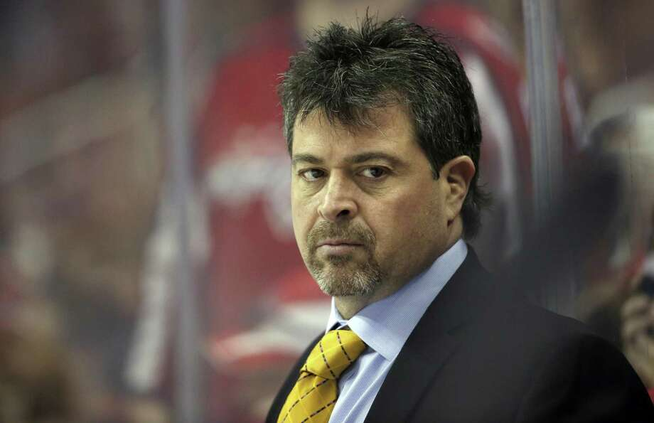 Jack Capuano was fired by the New York Islanders on Tuesday, after 482 games and 277 wins, second in team history only to Hall of Famer Al Arbour in both categories. Photo: Alex Brandon / Associated Press / Copyright 2017 The Associated Press. All rights reserved.