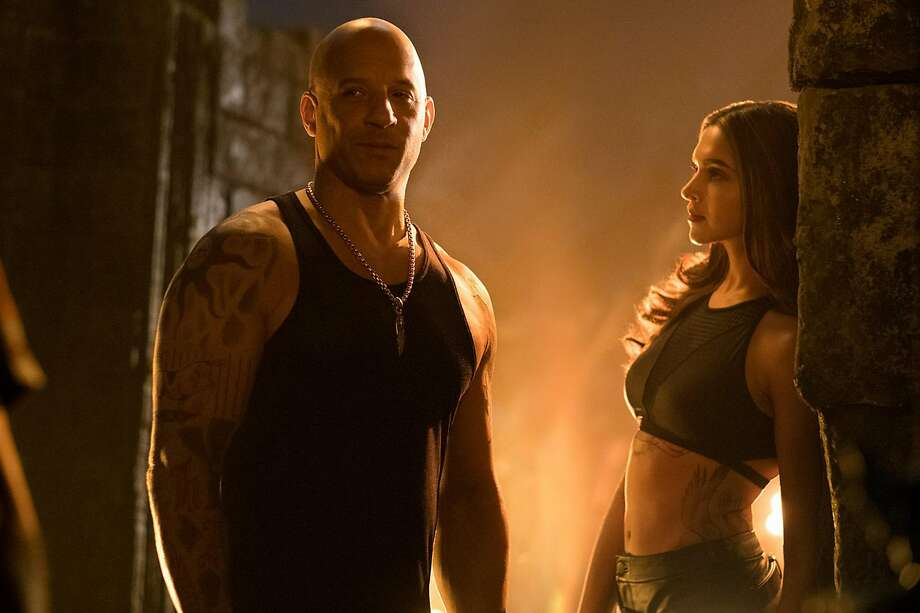 "Vin Diesel and Deepika Padukone star in the sequel ""XXX: Return of Xander Cage."" Photo: Paramount Pictures, TNS"