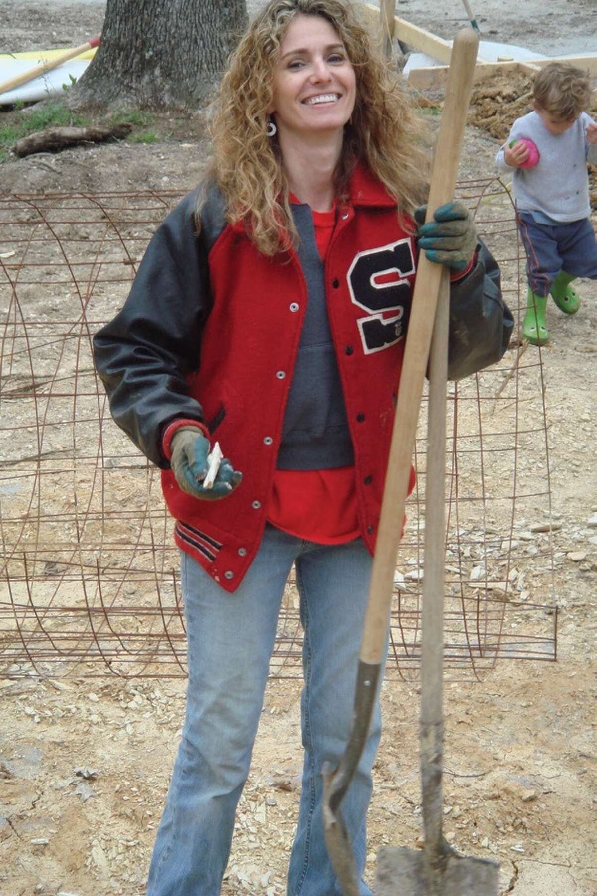 Brookins got a small loan to buy an acre of land and some building supplies. Then, using mostly YouTube how-to videos, she and her kids built their home from the ground up.