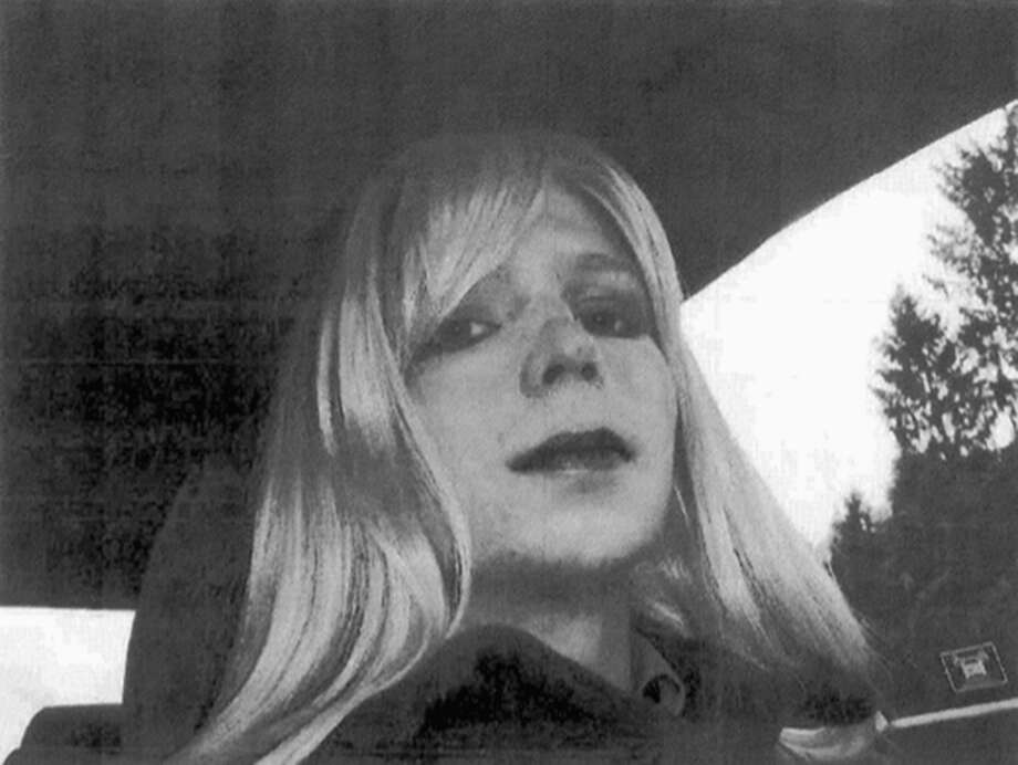 FILE - In this undated file photo provided by the U.S. Army, Pfc. Chelsea Manning poses for a photo wearing a wig and lipstick. On Tuesday, Jan. 17, 2017, President Barack Obama commuted the sentence of Chelsea Manning, who leaked Army documents and is serving 35 years. (U.S. Army via AP, File) Photo: HOGP / U.S. Army