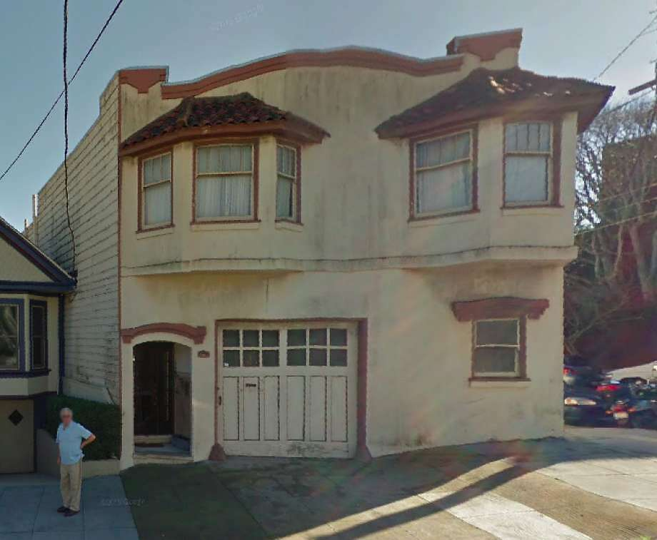 A tenant sued her landlord after the rent for this house at 355 Bocana Street in Bernal Heights was raised 315 percent. On Tuesday, the tenant, Deb Follingstad, won a $400,000 settlement. Photo: Google