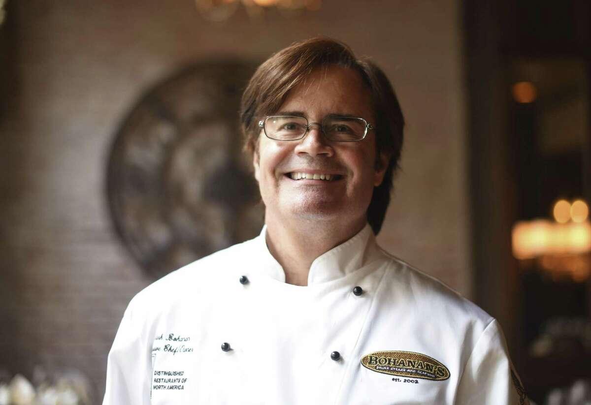 Chef and owner Mark Bohanan at Bohanan's Prime Steaks and Seafood.