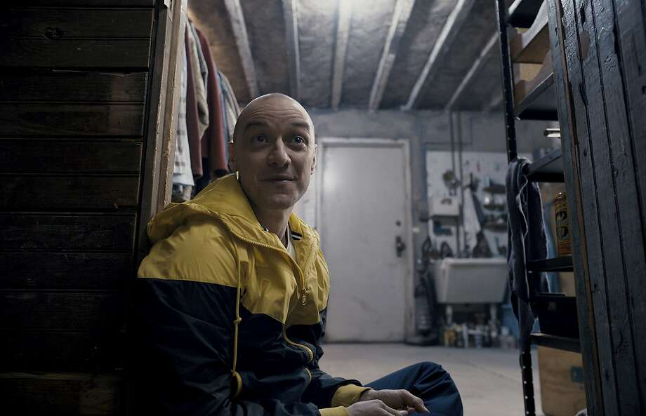 "James McAvoy is brilliant as a kidnapper with 24 distinct personalities in M. Night Shyamalan's thoroughly entertaining ""Split."" Photo: Universal Pictures, Associated Press"