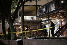 A father and son were taken to University Hospital Tuesday night after they were shot in their Northwest side apartment on Jan. 17, 2017. The shooting occurred in the 7100 block of Oaklawn Drive.
