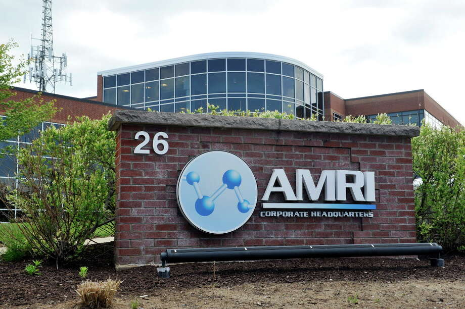 A view of the Albany Molecular Research Inc.,  headquarters on Thursday, May 19, 2016, in Albany, N.Y.  General Electric has confirmed it had talks with state officials about a $800 million biopharmaceutical center at SUNY Poly in Albany. AMRI, which has partnered with SUNY Poly in the past, has not talked about the potential center. (Paul Buckowski / Times Union) Photo: PAUL BUCKOWSKI / 40036661A