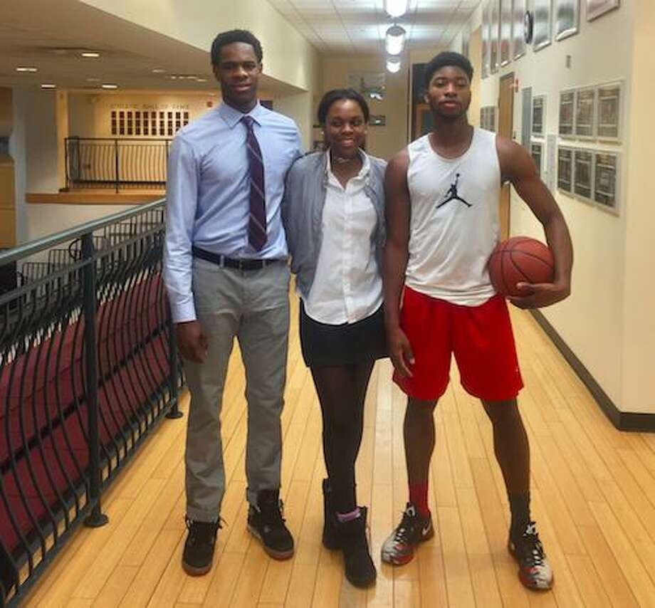 St. Luke's Walter Whyte, Syndey Lowery and Joel Boyce are among the Connecticut nominees for the McDonald's All-American games. Photo: Contributed Photo / Contributed Photo / Stamford Advocate Contributed