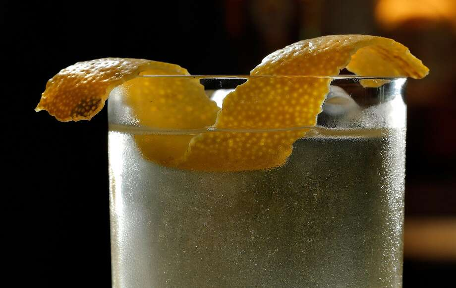 Linden Room's delicious clarified punch, the Golden Era cocktail. Photo: Carlos Avila Gonzalez, The Chronicle