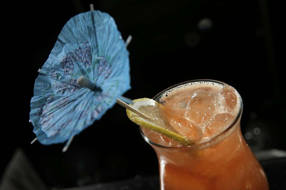 The Burricane cocktail gets punch from citrus at Linden Room in S.F. Photo: Carlos Avila Gonzalez, The Chronicle