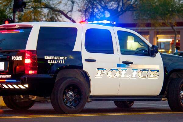 A police officer in Haltom City, near Fort Worth, is being investigated for spanking two children after stopping them from running into the street.