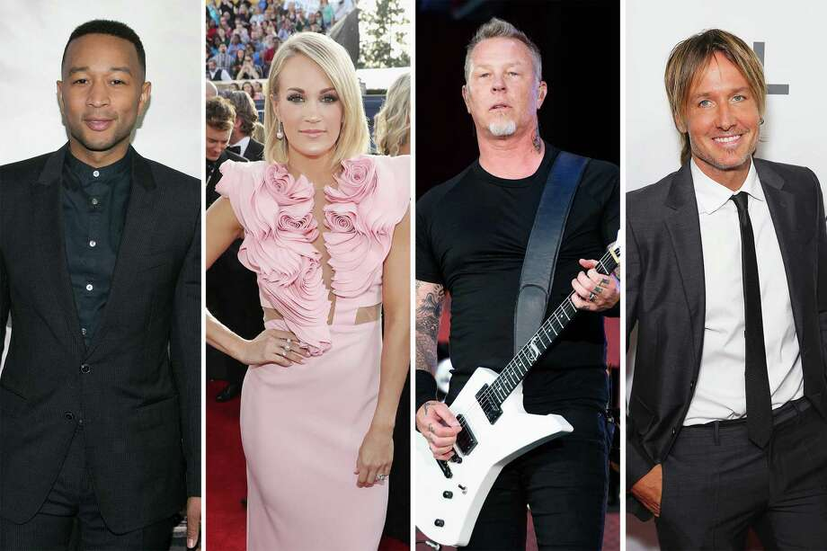 John Legend, Carrie Underwood, Keith Urban, Metallica set to play Grammys