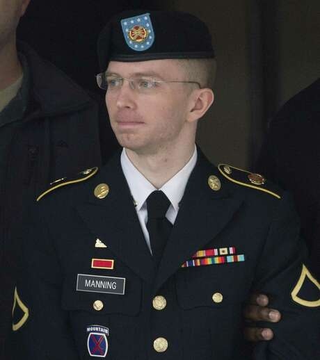 Army Pfc. Bradley Manning, now known as Chelsea Manning, received a com muted sentence. Photo: SAUL LOEB / AFP /Getty Images / AFP or licensors