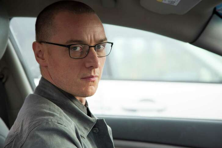 """This image released by Universal Pictures shows James McAvoy in a scene from, """"Split."""" (John Baer/Universal Pictures via AP)"""