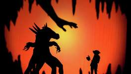 "The protagonist of ""Shadowland"" is a girl who enters a surreal world where she comes of age and has the head of a dog."