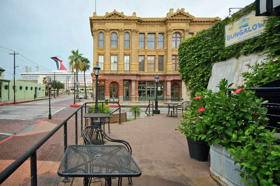 Galveston's StrandOne could spend all day here coming up with new backdrops and poses. But you may want to try the weekdays, unless your preferred backdrop is other families.2323 Strand Street, Galveston Photo: Courtesy Galveston CVB / Vadim Troshkin