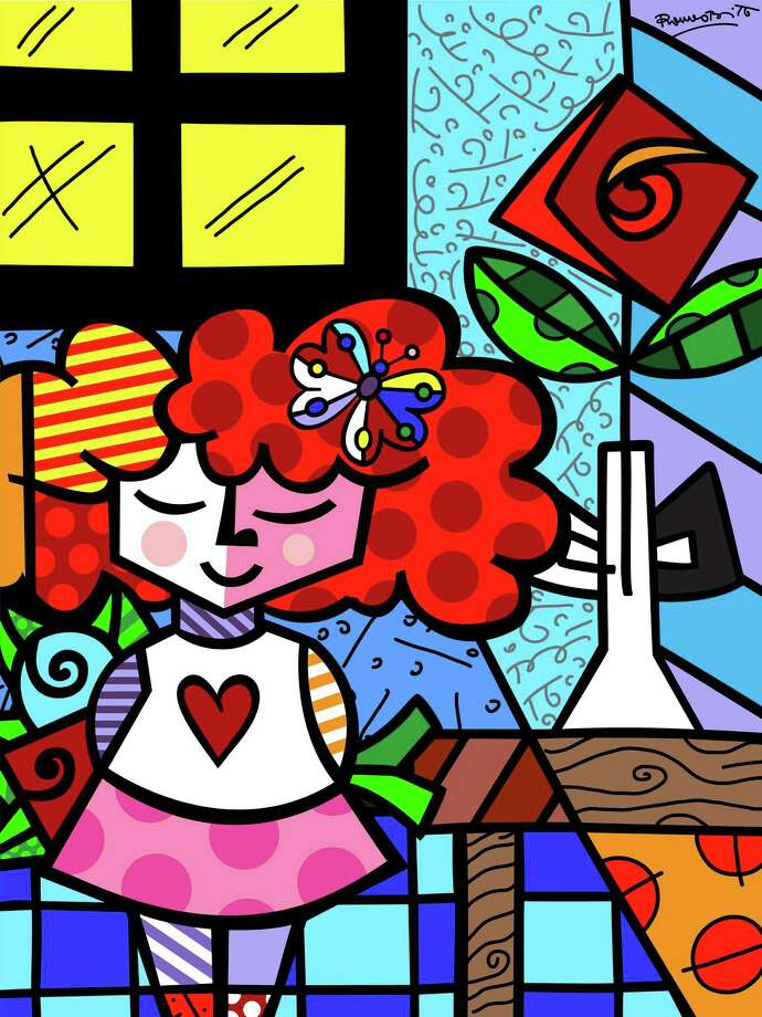 Romero Britto U0026 39 S Sunny Outlook Finds Its Way Into All His