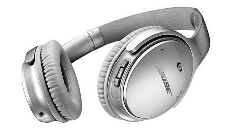 Bose QuietComfort 35 Wireless Noise Canceling Headphones.