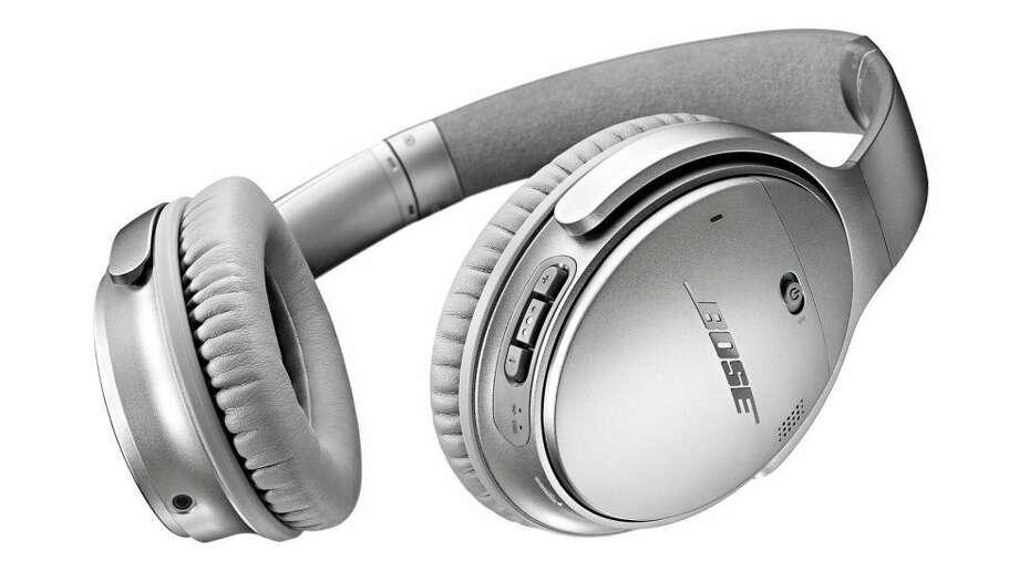 Bose QuietComfort 35 Wireless Noise Canceling Headphones.