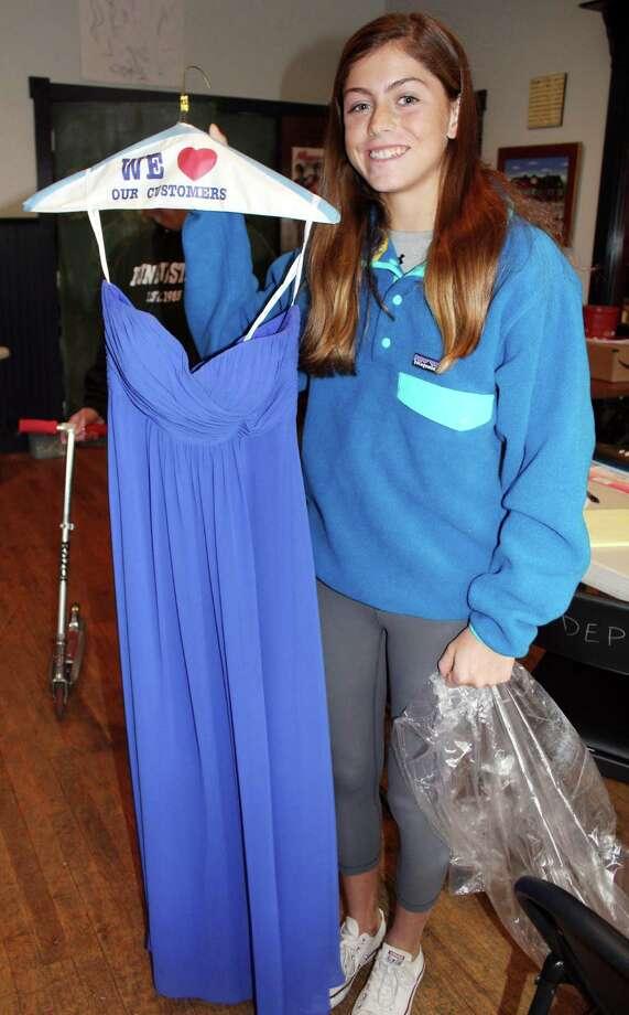 Darien Depot holds prom dress drive - Darien News