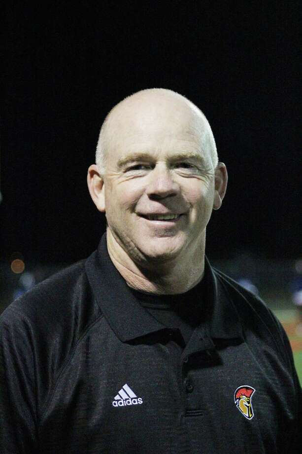 Stafford football head coach Ron Counter. Photo: Jimmy Loyd / freelance