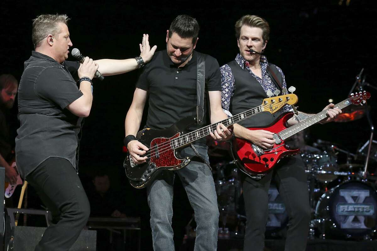 Award-winning singers Gary LeVox, Jay DeMarcus and Joe Don Rooney have taken the middle of the road to the the top of the country charts time and again. The No. 1 songs go on and on: