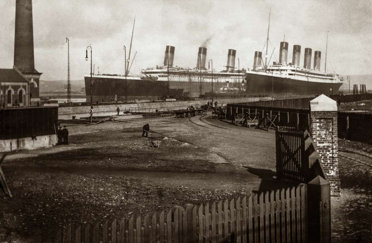 PHOTOS: Newly-published photos of Titanic show ship before its tragic demise A new TV documentary about the sinking of the RMS Titanic 105 years ago this coming April is supposed to shed more light on just why the famous ship sank in the cold Atlantic Ocean. Click through to see a few more new photos of the Titanic and its sister ship the Olympic...