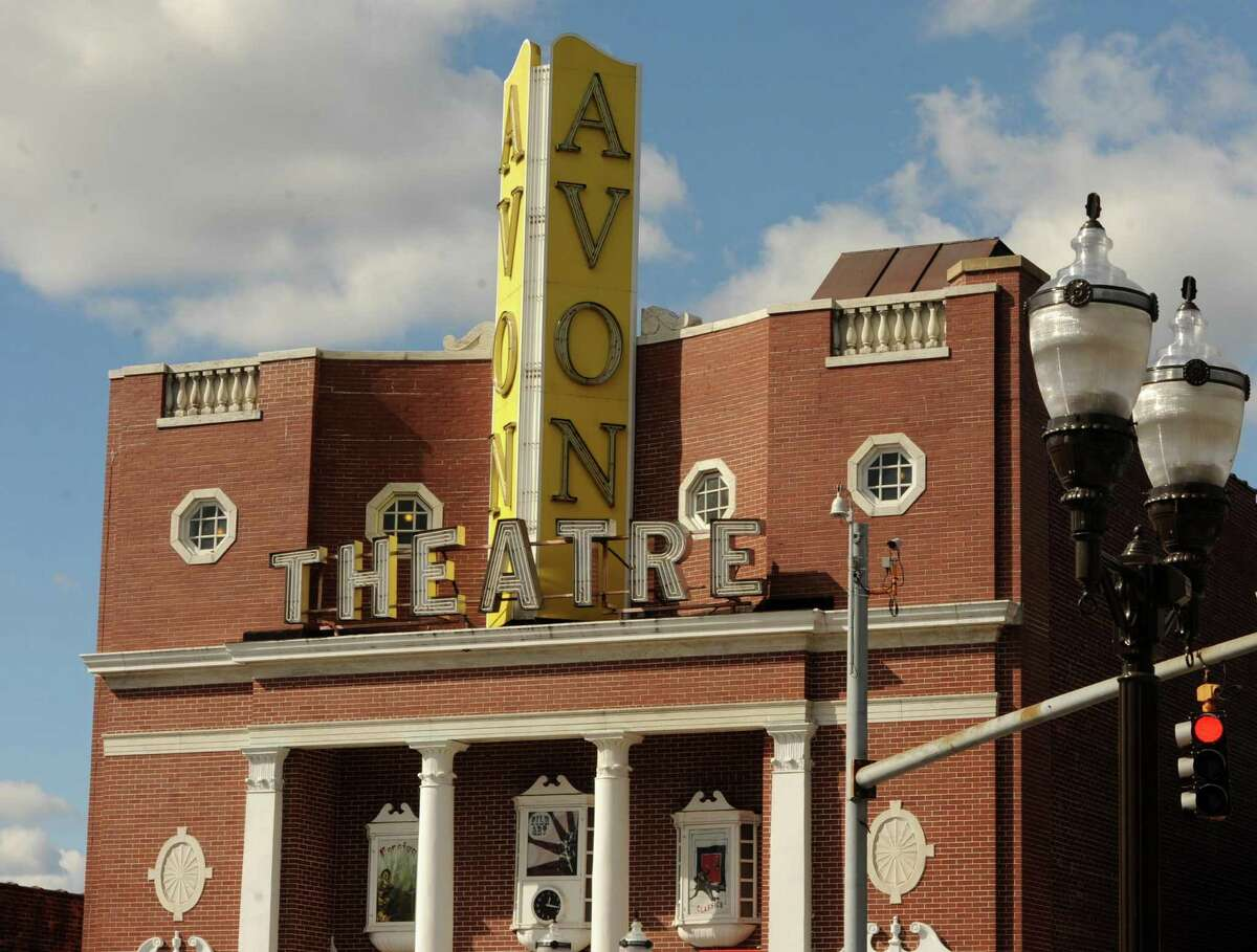 The Avon Theater on Bedford Street in Stamford, Conn. Friday, Oct. 16, 2015.