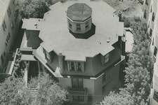 July 9,  1952: Octagon House located at 1067 Green Street, in San Francisco's Russian Hill.