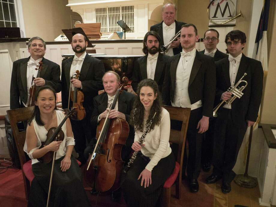 The Washington Friends of Music 2017 New Year's Day concert with The New Baroque Soloists, above, drew a record crowd at the Historic Meeting House in Washington. The concert was dedicated in memory of the late Benedict Silverman, avid supporter of the concerts. Douglas Myers directed the 10 musicians, who performed a variety of baroque compositions by Bach, Handel, Quantz and Zipoli. A Beethoven duet for Viola and cello was sprinkled in, performed by Vincent Lionti and Samuel Magill, both with the Metropolitan Opera Orchestra. The Bach organ solo by Jonathan Ryan was another highlight. The New Baroque Soloists will be back for the Summer Solstice Concert June 18 at 5 p.m. at the Hollister House Garden in Washington and for the Washington Friends of Music Summer Concert Festival July 21 through Aug. 11 at the meetinghouse. For more information, visit http://washingtonct4music.blogspot.com or call 860-868-9174. Photo: Contributed Photo / Contributed Photo / The News-Times Contributed