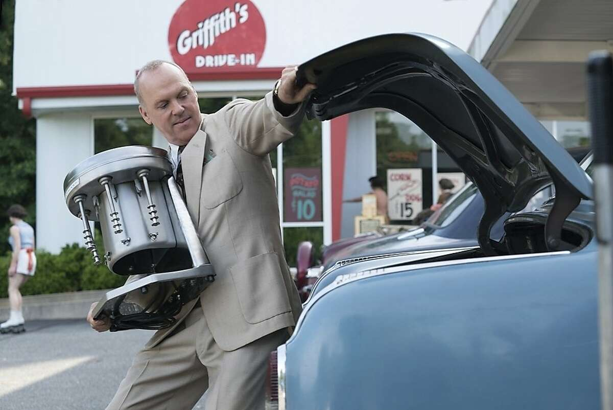 This image released by The Weinstein Company shows Michael Keaton in a scene from,
