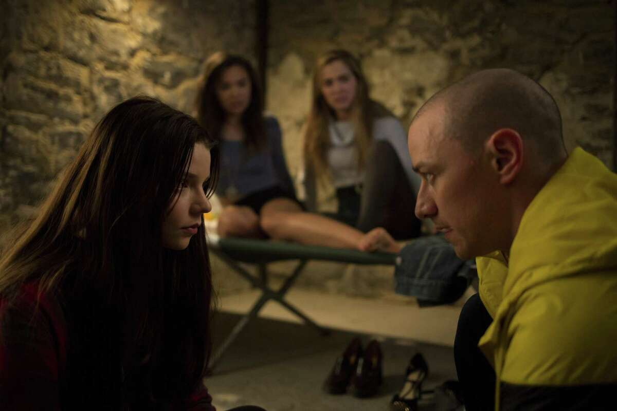 """""""Split,"""" starring Anya Taylor-Joy and James McAvoy, is director M. Night Shyamalan's strongest movie in years."""