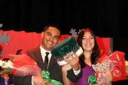 Last year's winners of Pasadena High School's Emerald Pageant were Luis Orozco and Katrine Booth. This year's event is scheduled for 6 p.m. Jan. 28 at the school's auditorium, 206 S. Shaver, Pasadena. The show will honor Alma Isabel Adame, a PHS senior who died last month in a house fire.