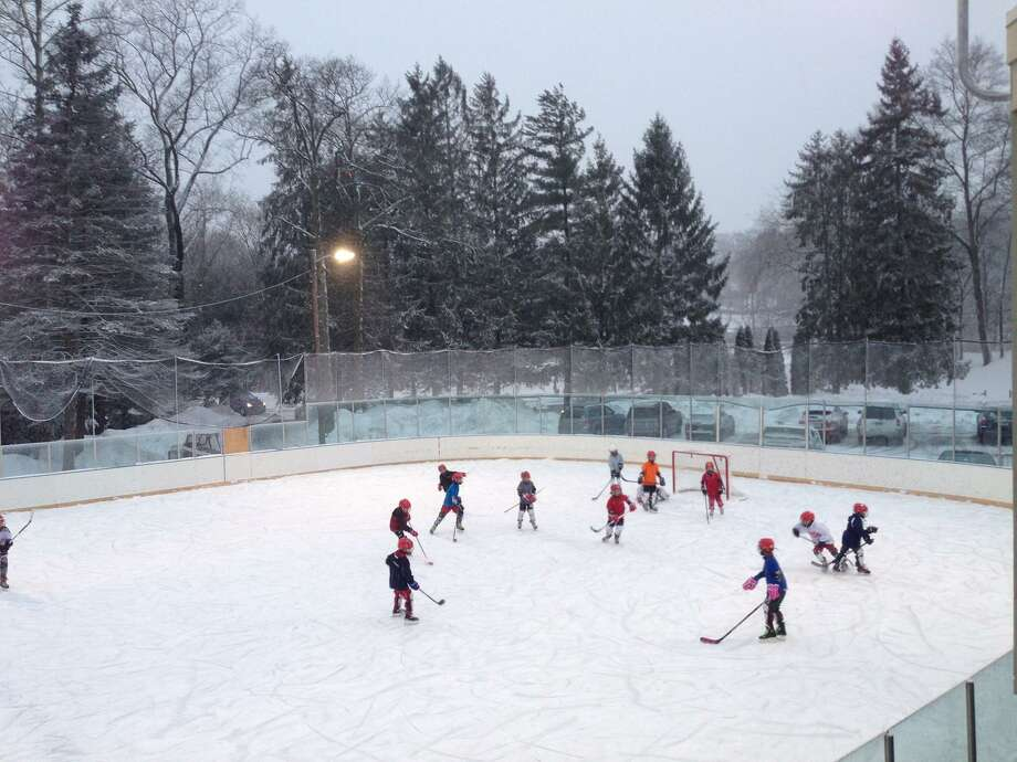 The Greenwich Skating Club has a brand new rink. Photo: / Contributed