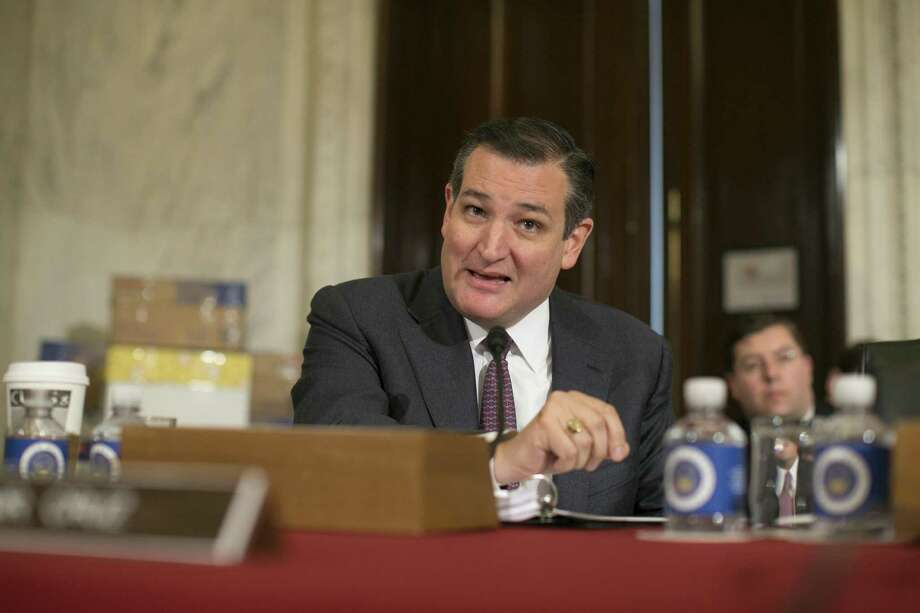 Sen. Ted Cruz speaks during the second day of confirmation hearings for Sen. Jeff Sessions, nominated to be attorney general in the Trump administration. A reader questions Cruz's constant criticism of President Barack Obama. at Photo: AL DRAGO /NYT / NYTNS