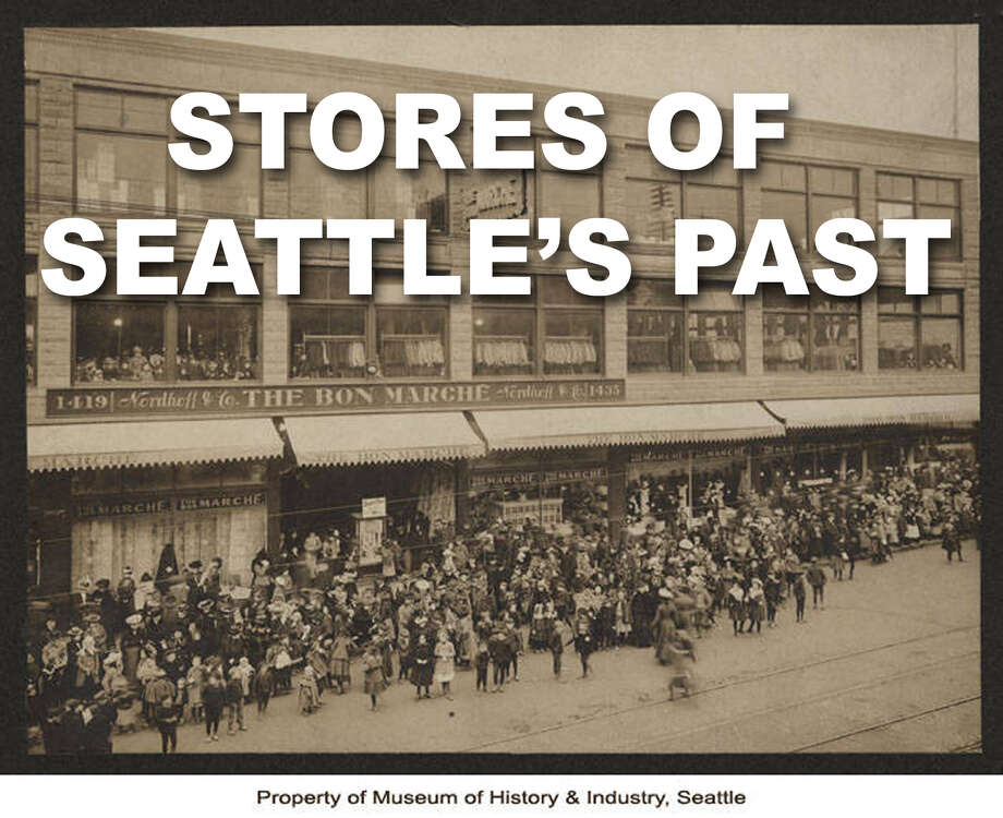 Seattle-based or started stores that are no longer around. Photo: MOHAI