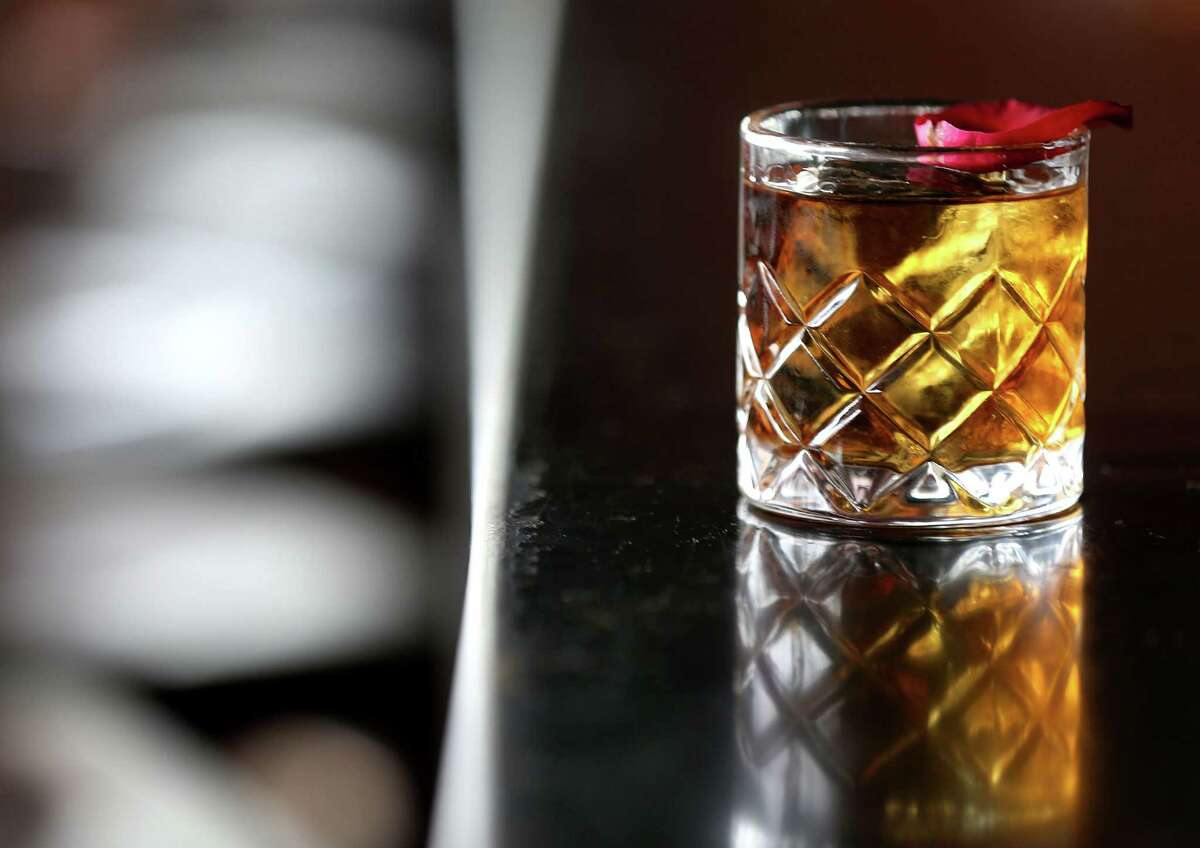 Anvil Bar & Refuge in Houston was listed as No. 80 in the 2017 rankings for the World's 50 Best Bars program (bars 51-100 were named in advance of the 50 Best announcement Oct. 5. Anvil was the only bar in Texas in the ranking. Shown: House of Lancaster cocktail.