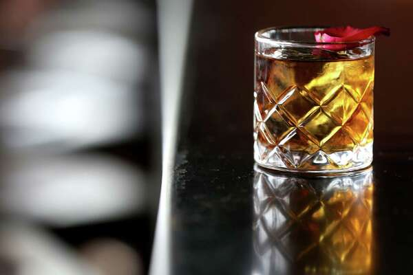 House of Lancaster is a new drink on the new spring menu on Anvil's Bar on  Friday, March 18, 2016, in Houston. ( Elizabeth Conley / Houston Chronicle )