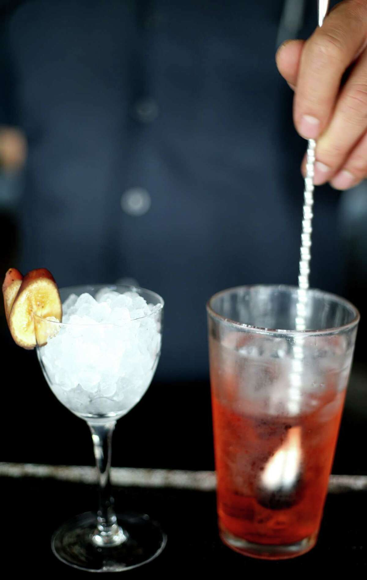 Muddy the Waters is on the new spring menu on Anvil's Bar on Friday, March 18, 2016, in Houston. ( Elizabeth Conley / Houston Chronicle )