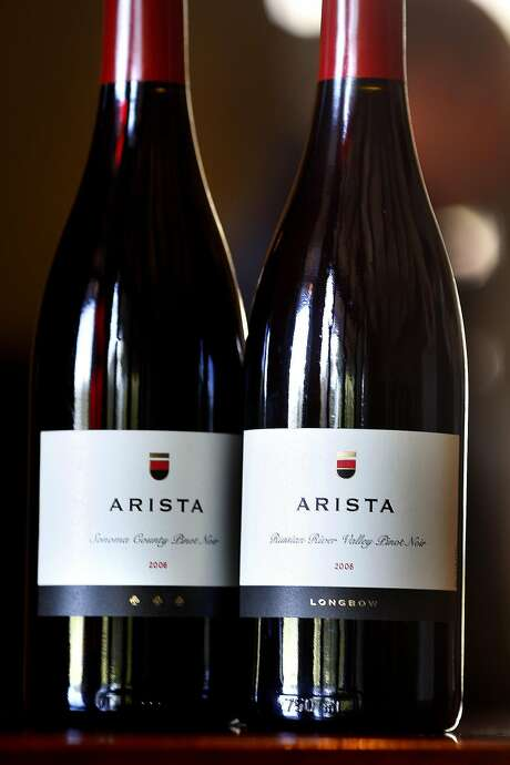 Wines from Arista Winery, Healdsburg, CA. Tasting rooms in the Healdsburg, Sonoma County, area.
