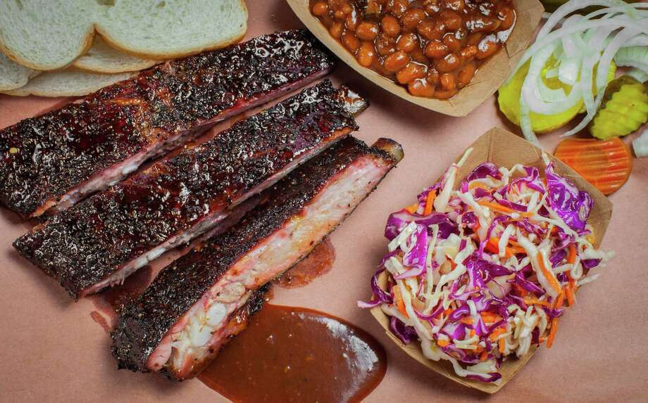 Sauce on the side at Killen's Barbecue Photo: Nick De La Torre, Freelance / ONLINE_YES