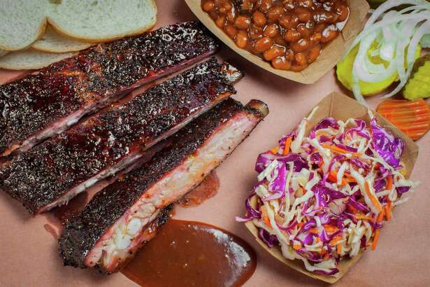 Sauce on the side at Killen's Barbecue