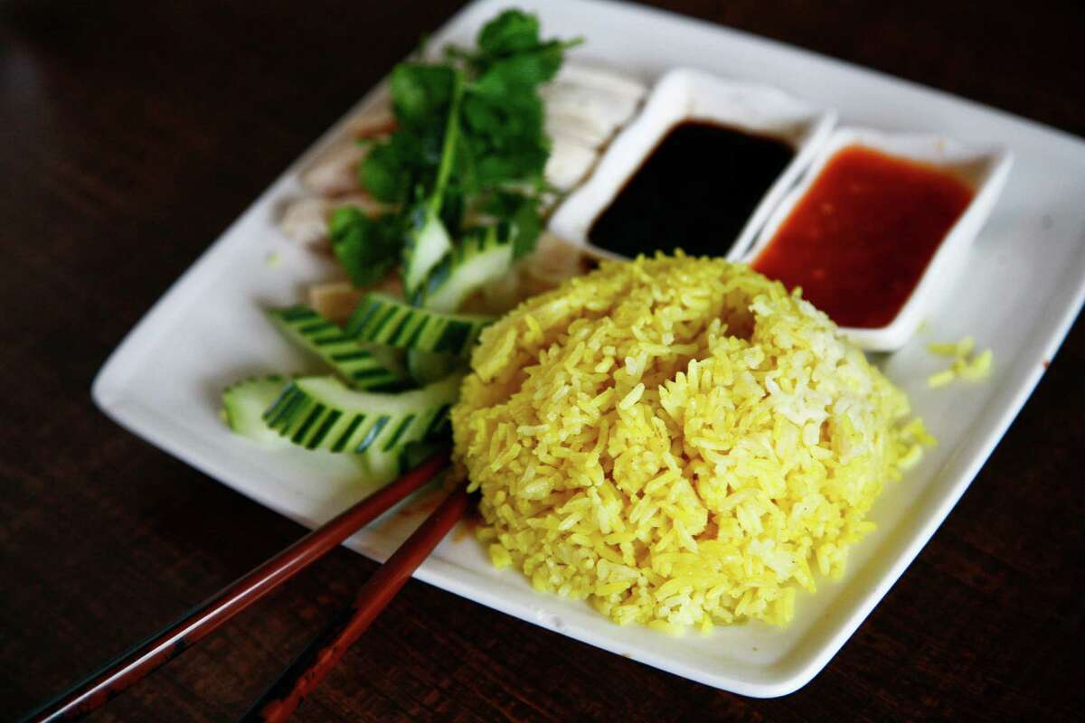 Hainanese Chicken Rice at Banana Leaf Malaysian Cuisine