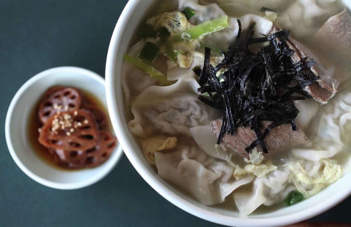 85. Bon Ga Korean Restaurant: Mandutguk (dumpling soup)