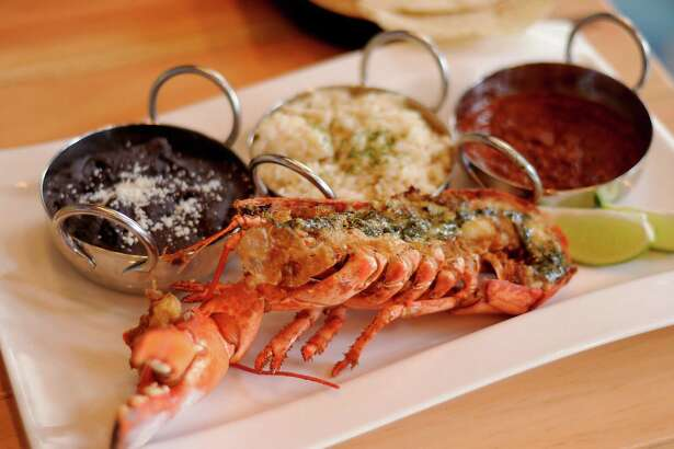 The lobster plate at the new La Fisheria at 213 Milam Thursday Jan. 14, 2016.(Dave Rossman photo)
