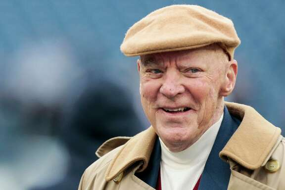 Houston Texans owner Bob McNair stands on the sidelines before an NFL football game against the Tennessee Titans at Nissan Stadium on Sunday, Jan. 1, 2017, in Nashville. ( Brett Coomer / Houston Chronicle )