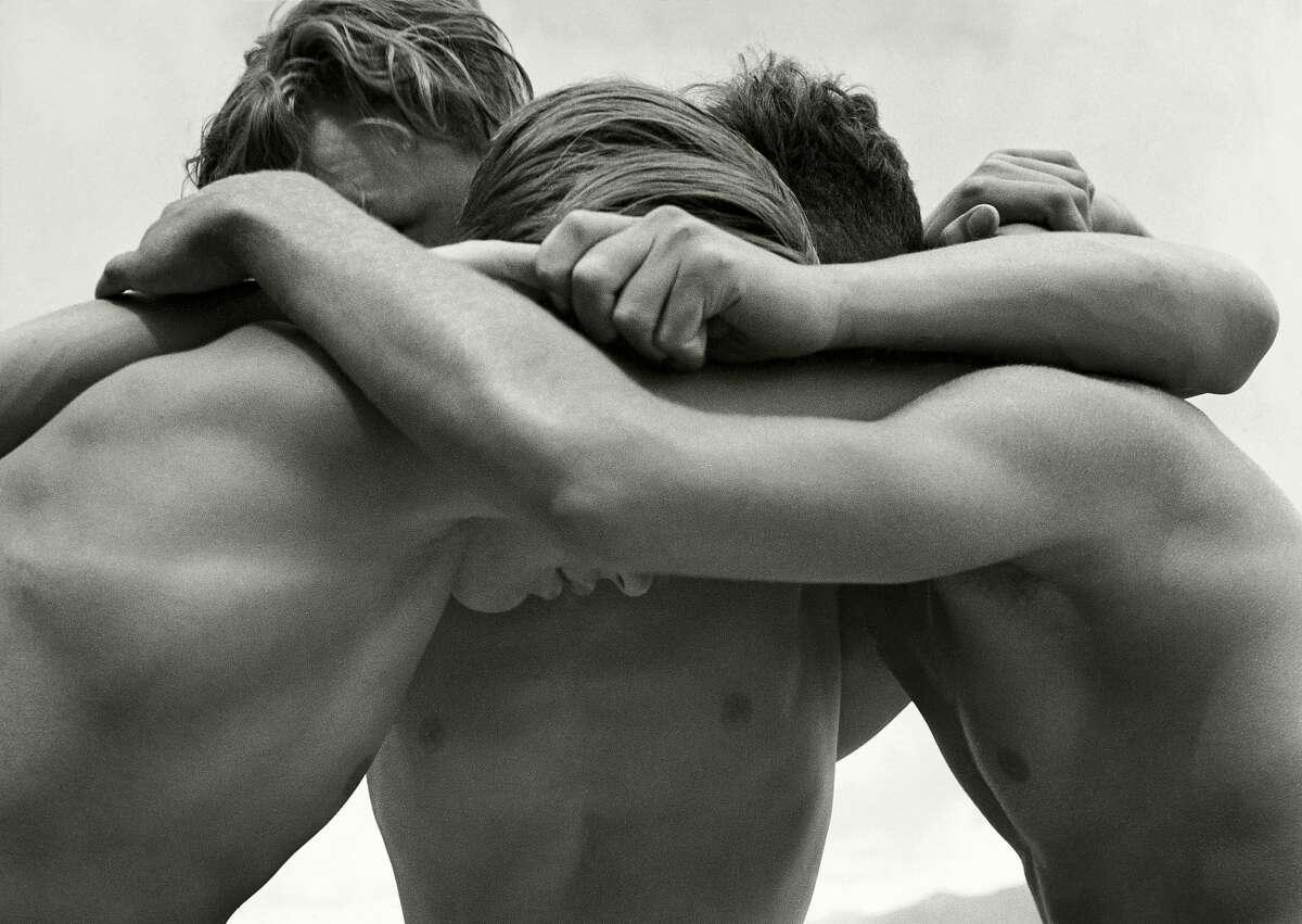 "Herbert List, ""Wrestling Boys at the Baltic Sea, Germany"" (1933)"