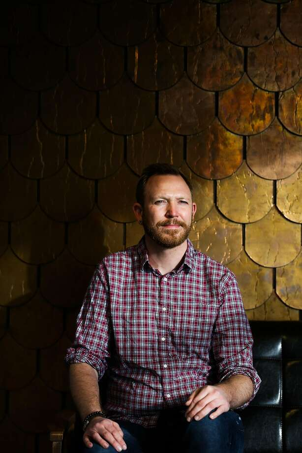 Somatik CEO Chris Schroeder sits for a portrait at his office in Oakland, Calif., on Tuesday, Jan. 17, 2017. Photo: Gabrielle Lurie, The Chronicle