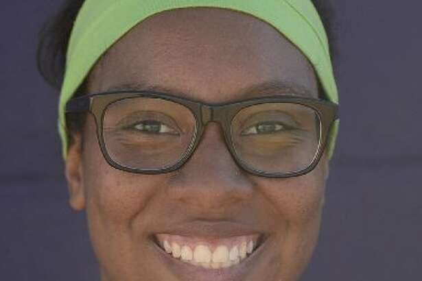 Midland High pitcher Deandra Allen.