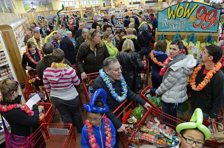 When you break it down to square footage, Trader Joe's is actually selling more than double its competitors like Whole Foods. Photo: RJ Sangosti/Denver Post Via Getty Images