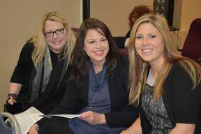Were you Seen at the Women@Work breakfast event with Denise Desmond, owner, president and senior media director of Desmond Media and Marketing, at the Times Union in Albany on Wednesday, Jan. 18, 2017?