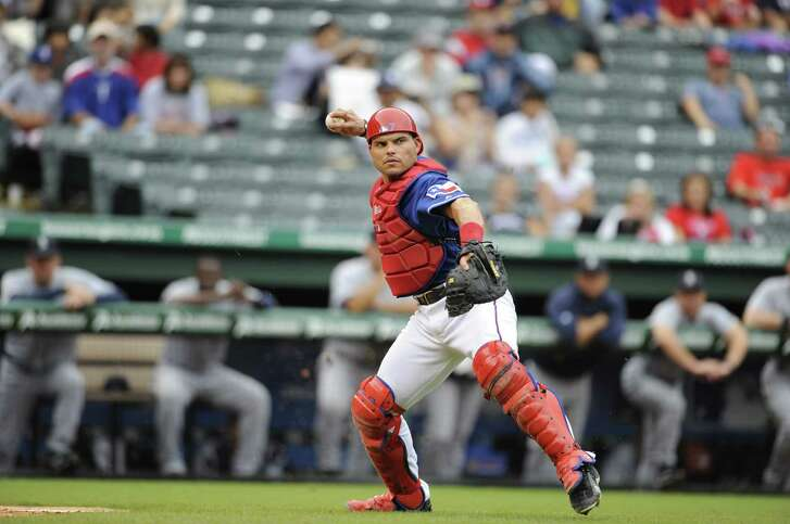 Ivan Rodriguez is the first player to spend the bulk of his career with the Rangers to make the Hall of Fame.